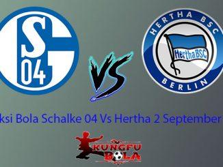 Schalke 04 Vs hertha Berlin