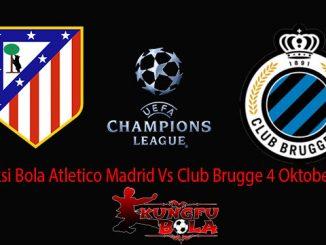 Prediksi Bola Atletico Madrid Vs Club Brugge 4 Oktober 2018