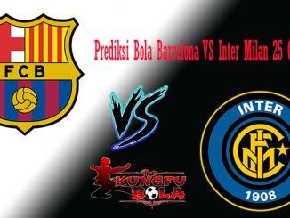 Prediksi Bola Barcelona VS Inter Milan 25 Oktober 2018