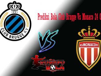 Prediksi Bola Club Brugge Vs Monaco 24 Oktober 2018
