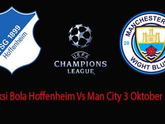 Prediksi Bola Hoffenheim Vs Man City 3 Oktober 2018