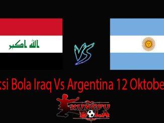 Prediksi Bola Iraq Vs Argentina 12 Oktober 2018