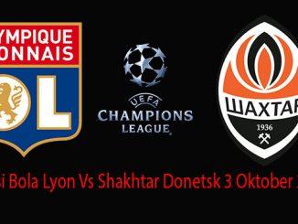 Prediksi Bola Lyon Vs Shakhtar Donetsk 3 Oktober 2018