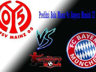 Prediksi Bola Mainz Vs Bayern Munich 27 Oktober 2018