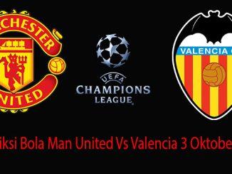 Prediksi Bola Man United Vs Valencia 3 Oktober 2018