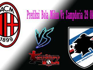 Prediksi Bola Milan Vs Sampdoria 29 Oktober 2018