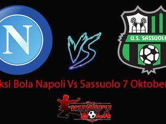 Prediksi Bola Napoli Vs Sassuolo 7 Oktober 2018