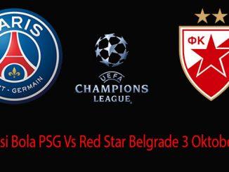 Prediksi Bola PSG Vs Red Star Belgrade 3 Oktober 2018