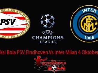 Prediksi Bola PSV Eindhoven Vs Inter Milan 4 Oktober 2018