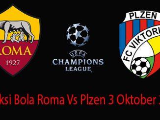 Prediksi Bola Roma Vs Plzen 3 Oktober 2018
