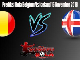 Prediksi Bola Belgium Vs Iceland 16 November 2018