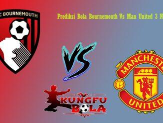Prediksi Bola Bournemouth Vs Man United 3 November 2018