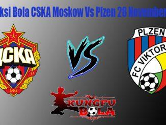 Prediksi Bola CSKA Moscow Vs Plzen 28 November 2018
