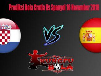 Prediksi Bola Crotia Vs Spanyol 16 November 2018