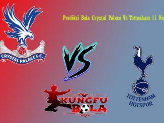 Prediksi Bola Crystal Palace Vs Tottenham 11 November 2018