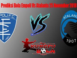 Prediksi Bola Empoli Vs Atalanta 25 November 2018