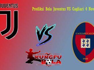 Prediksi Bola Juventus VS Cagliari 4 November 2018