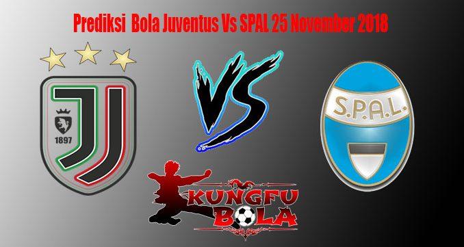 Prediksi Bola Juventus Vs SPAL 25 November 2018