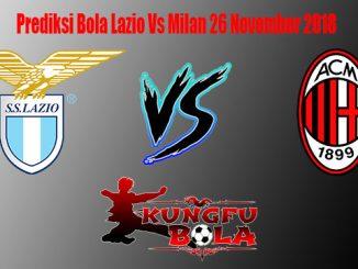 Prediksi Bola Lazio Vs Milan 26 November 2018