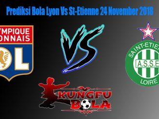 Prediksi Bola Lyon Vs St-Etienne 24 November 2018