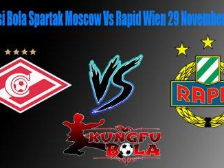Prediksi Bola Spartak Moscow Vs Rapid Wien 29 November 2018