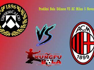 Prediksi Bola Udinese VS AC Milan 5 November 2018