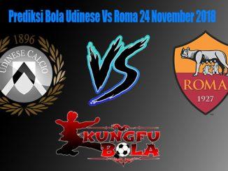 Prediksi Bola Udinese Vs Roma 24 November 2018