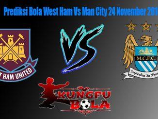 Prediksi Bola West Ham Vs Man City 24 November 2018