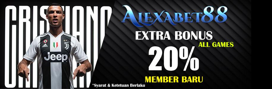 extra bonus 20%