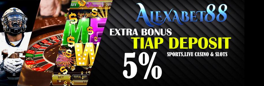xtra bonus tiap deposit