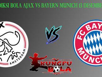 Prediksi Bola Ajax Vs Bayern Munich 13 Desember 2018