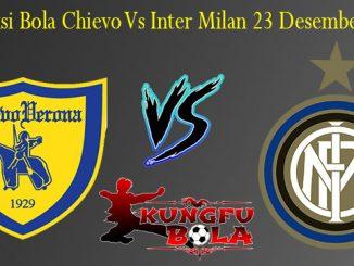 Prediksi Bola Chievo Vs Inter Milan 23 Desember 2018