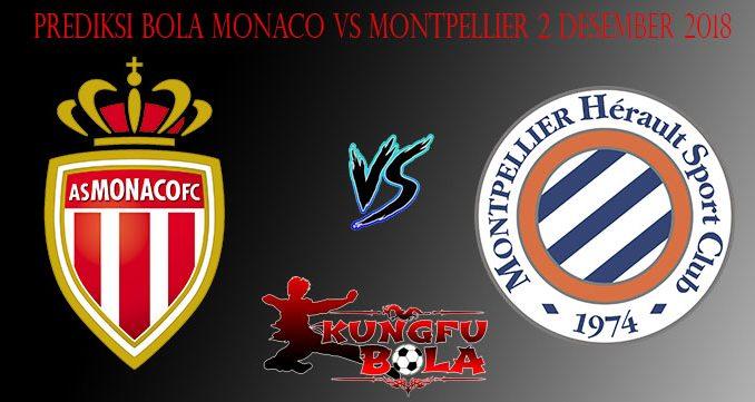 Prediksi Bola Monaco Vs Montpellier 2 Desember 2018