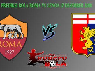 Prediksi Bola Roma Vs Genoa 17 Desember 2018