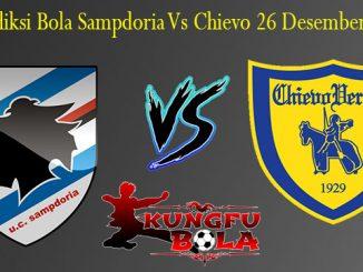 Prediksi Bola Sampdoria Vs Chievo 26 Desember 2018