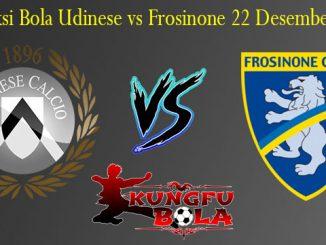Prediksi Bola Udinese vs Frosinone 22 Desember 2018