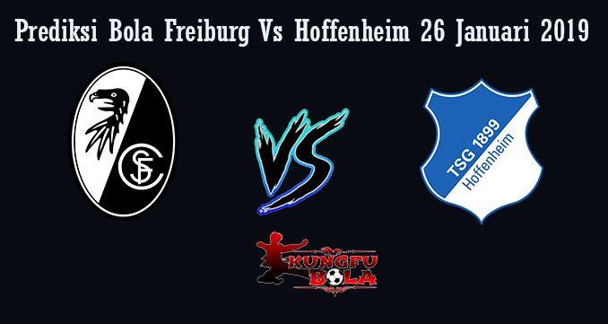 Prediksi Bola Freiburg Vs Hoffenheim 26 Januari 2019