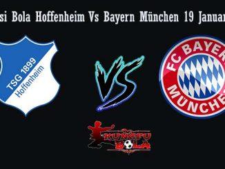 Prediksi Bola Hoffenheim Vs Bayern München 19 Januari 2019