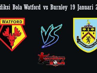 Prediksi Bola Watford vs Burnley 19 Januari 2019