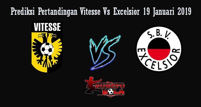 Prediksi Pertandingan Vitesse Vs Excelsior 19 Januari 2019