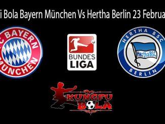 Prediksi Bola Bayern München Vs Hertha Berlin 23 Februari 2019