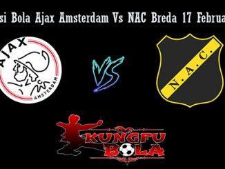 Prediksi Bola Ajax Amsterdam Vs NAC Breda 17 Februari 2019