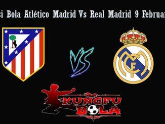 Prediksi Bola Atlético Madrid Vs Real Madrid 9 Februari 2019