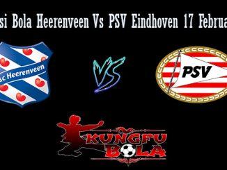 Prediksi Bola Heerenveen Vs PSV Eindhoven 17 Februari 2019