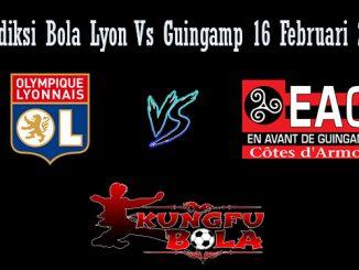 Prediksi Bola Lyon Vs Guingamp 16 Februari 2019