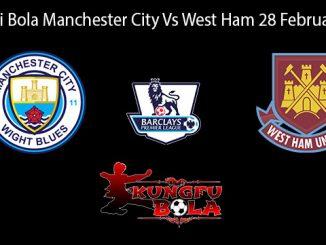 Prediksi Bola Manchester City Vs West Ham 28 Februari 2019