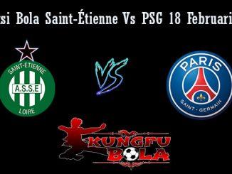 Prediksi Bola Saint-Étienne Vs PSG 18 Februari 2019
