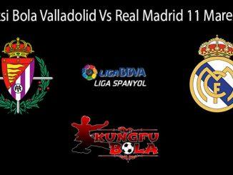 Prediksi Bola Valladolid Vs Real Madrid 11 Maret 2019