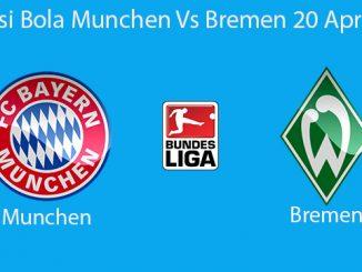 Prediksi Bola Munchen Vs Bremen 20 April 2019