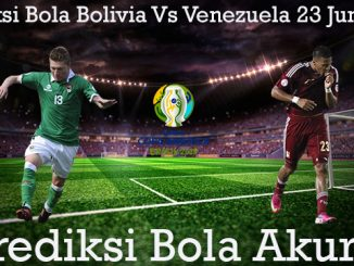 Prediksi Bola Bolivia Vs Venezuela 23 Juni 2019